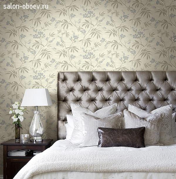 Выбираем интерьер спальни и обои для завершения общей картины ... | 610x600