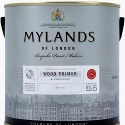Обои MyLands , арт. Wood Primer & Undercoat White