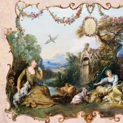 Обои Affresco Классические орнаменты, арт. 3390
