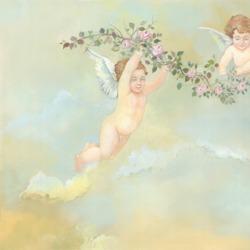 Обои Affresco Сюжеты для потолков, арт. 3176