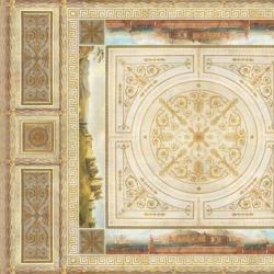 Обои Affresco Сюжеты для потолков, арт. 9017