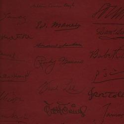 Обои Andrew Martin Navigator, арт. Autograph Red