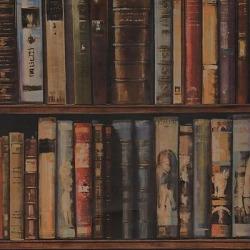 Обои Andrew Martin Navigator, арт. Library Multi
