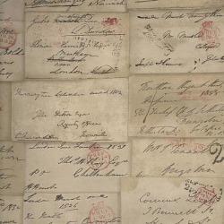 Обои Andrew Martin Navigator, арт. Love Letter Parchment