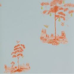 Обои Andrew Martin The Kit Kemp Collection,, арт. Pear Tree-Sunset Orange