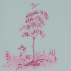 Обои Andrew Martin The Kit Kemp Collection,, арт. Pear Tree-Sunset Pink