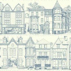 Обои Ashford House Toiles II, арт. AF1908
