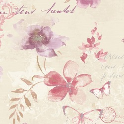 Обои AURA Abby Rose, арт. AB42434