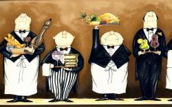 Обои AURA Kitchen Story, арт. FK 78454