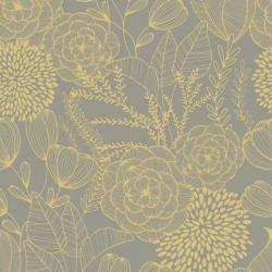 Обои AURA Magic Flowers, арт. FD25854