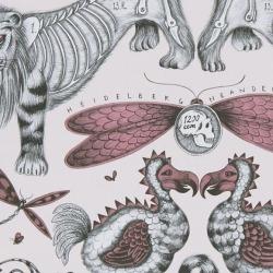 Обои Clarke & Clarke Animalia, арт. W0100-05