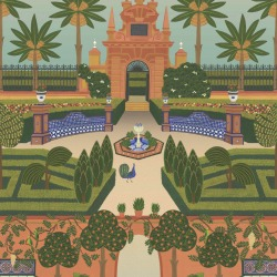 Обои Cole & Son Seville, арт. 117-7020