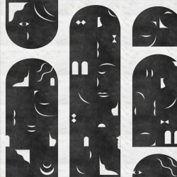 Обои Coordonne RANDOM  Archists, арт. 9000021