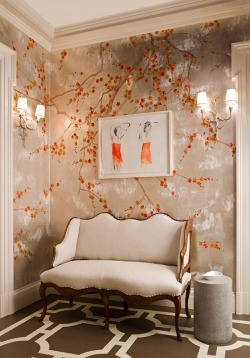 Обои De Gournay Japanese & Korean, арт. 201407-08