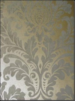 Обои Fresco Wallcoverings Silver Damask, арт. SV 70303