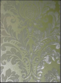 Обои Fresco Wallcoverings Silver Damask, арт. SV 70304