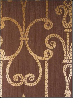 Обои Fresco Wallcoverings Silver Damask, арт. SV 70505