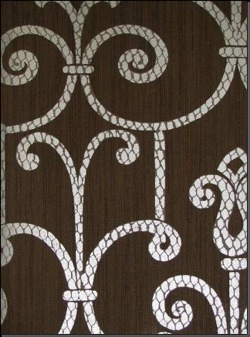 Обои Fresco Wallcoverings Silver Damask, арт. SV 70507