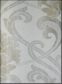 Обои Fresco Wallcoverings Silver Damask, арт. SV 71407