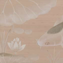 Обои Fromental Modern Chinois, арт. Carp and Moon-Camee
