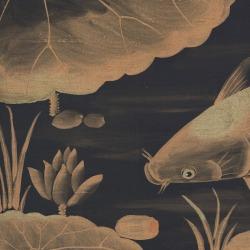 Обои Fromental Modern Chinois, арт. Carp and Moon-Kyoto