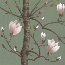 Обои Fromental Modern Chinois, арт. Magnolia-Tourmaline