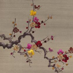 Обои Fromental Modern Chinois, арт. Prunus-Cardinal