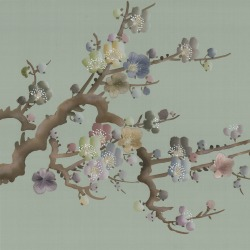 Обои Fromental Modern Chinois, арт. Prunus-Samui