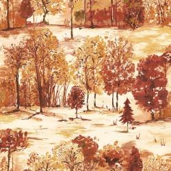 Обои Holden Into the Woods, арт. 98560 Roscoe Burnt Orange