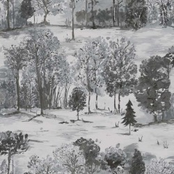 Обои Holden Into the Woods, арт. 98562 Roscoe Grey