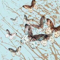 Обои ID Wall Ботаника, арт. ID-048016 Butterfly