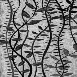 Обои ID Wall Ботаника, арт. ID-048019 Black and Gray