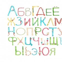 Обои ID Wall Детям, арт. ID 037042 Alphabet
