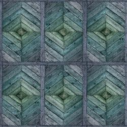 Обои ID Wall Лофт, арт. ID-096032 EMERALD FENCE