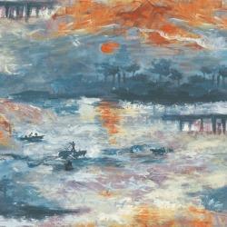Обои KT Exclusive  French Impressionist, арт. fi70002
