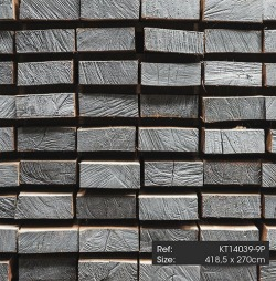 Обои KT Exclusive  Just Concrete and Wood, арт. KT14039