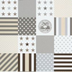 Обои KT Exclusive  Stars & Stripes, арт. 2800071