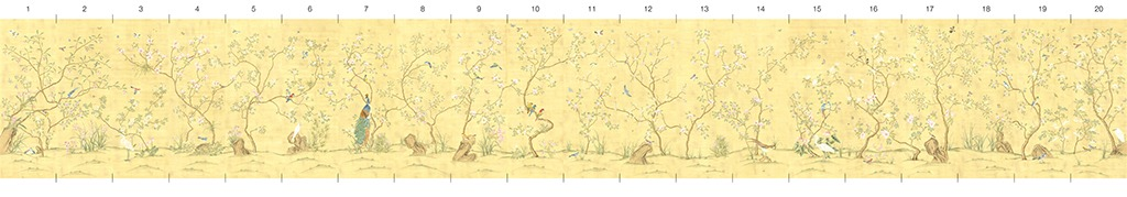 Обои Melange Series Шелковые панно на бумаге, арт. C-03-16