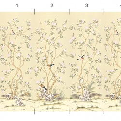 Обои Melange Series Шелковые панно на бумаге, арт. C-10-16-V