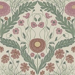 Обои Midbec Blomstermala, арт. 51002