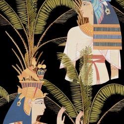 Обои MINDTHEGAP MINDTHEGAP, арт. EGYPTIAN QUEENS Anthracite WP20266