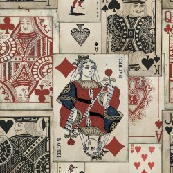 Обои MINDTHEGAP MINDTHEGAP, арт. WP20019 - Play Cards
