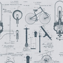 Обои MINDTHEGAP MINDTHEGAP, арт. WP20049 - Patents Grey
