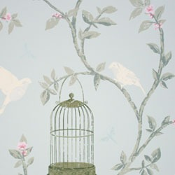 Обои Nina Campbell BIRDCAGE WALK, арт. NCW3770-03