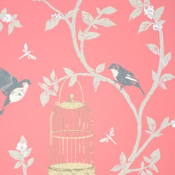 Обои Nina Campbell BIRDCAGE WALK, арт. NCW3770-04