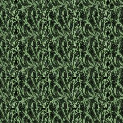 Обои NLXL LAB #3, арт. MRV-11 Monochrome Leaves Green SIM
