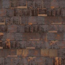 Обои NLXL LAB #3, арт. PHE-19 Rusted Metal Brown SIM