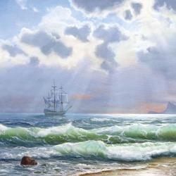 Обои ORTOGRAF Морской Пейзаж, арт. 4099
