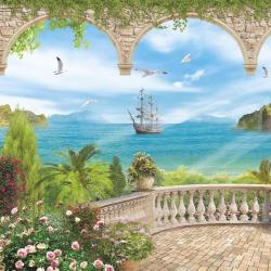 Обои ORTOGRAF Морской Пейзаж, арт. 4997