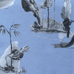Обои Osborn&Little POMPADOUR, арт. w6011-04